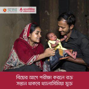 থ্যালাসিমিয়া প্রতিরোধ বাংলাদেশ ২০১৮